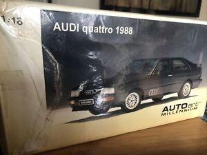 Autoart 1:18 AUDI QUATTRO 1988 EXCELLENT CONDITION