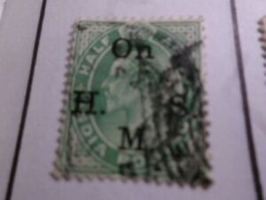 INDE ANGLAISE, timbre de SERVICE 40 oblitéré, VF used stamp