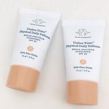 Drunk Elephant Umbra Tinte Physical Daily Defense Sunscreen Mini Travel 15 ml x2