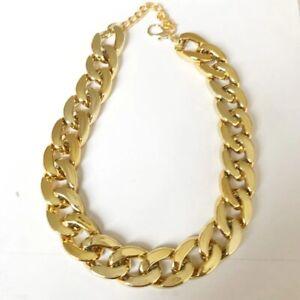 Pet Dog Pitbull Bulldog Cat Puppy Choke Gold Silver Chain Necklace Collar Teddy