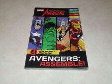 Marvel Avengers: Assemble - Four Avengers Books in One