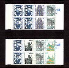 Berlin Mi.Nr.Markenheftchen 14/15**Postfr.--Sehenswürdigkeiten---ca.90 M€---114