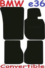 Esteras De Coche De Calidad De Lujo Para BMW e36 3 Series Convertible 92-98 ** adaptado para PE
