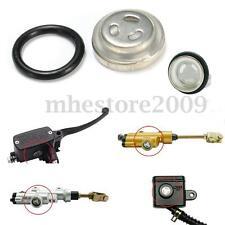 10mm Motorcycle Bike Brake Master Cylinder Reservoir One Sight Glass Lens Gasket