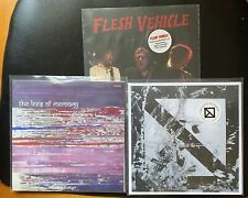 """The Lees Of Memory Epic Ditch Flesh Vehicle 7"""" Vinyl Lot Members Of Superdrag"""