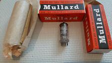 Tubes EF86 Mullard Halo getter 1962 NOS (matched pair)