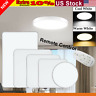 Square/Round LED Ceiling Down Light Flush Mount Kitchen Bedroom Fixture Lamps