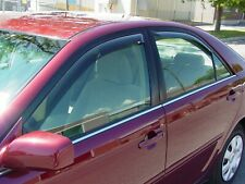 In-Channel Wind Deflectors: 2002-2006 Toyota Camry