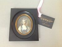 FINELY PAINTED LATE 19thC FRENCH PORTRAIT MINIATURE OF A YOUNG LADY SIGNED #1