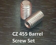 CZ 455 Replacement Upgraded High Quality STAINLESS STEEL Barrel Set Screws #48