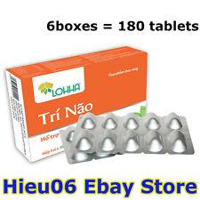 6 Boxes Lohha Tri Nao - 100% Herbal - Loss Memory Alzheimer
