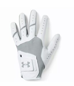 Under Armour ISO-Chill Right Handed Golf Glove Grey/White/Pink Men's Med/Large