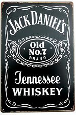 JACK DANIELS  METAL TIN PLATE SIGNS vintage cafe pub brew garage retro kitchen