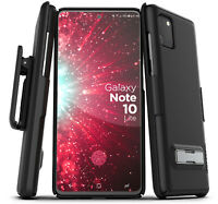 For Samsung Galaxy Note 10 Lite Belt Case w Kickstand Slim Cover w Holster Clip