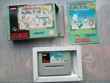 Jeu Super Nintendo / Snes Game Hebereke's Popoitto Complet PAL Eur CIB * Rare