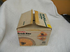 Rival Crock-ette Stoneware Crockpot Slow Cooker 1 Quart Model 3200/GARDEN/GREAT