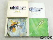 Final Fantasy V 5 Original Sound Version Music CD OSV Japan Import JP US Seller
