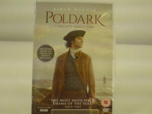 BBC Poldark DVD's. Complete Series Two. Used