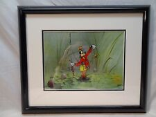 "DISNEY CEL OF ""GOOFY FISHING #3"" SERIGRAPH"