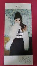 4MINUTE GAYOON Official PHOTOCARD 6th Mini CRAZY HEO GA YOON Photo Card 가윤
