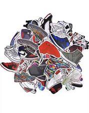 100 Random Jordan Yeezy Adidas Stickers- Clean Matte finish