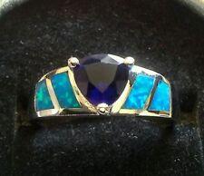 Opal Band Fashion Rings