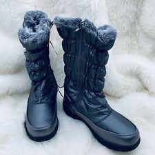 Sporto Womens Boots Size 6 M Makela Cold Weather Waterproof Dark Pewter NEW