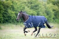 Gallop Trojan 300g Heavyweight Winter Turnout Rug with Std Neck Horse Pony