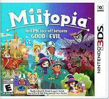 Miitopia [Nintendo 3DS, NTSC, Mii, Action, RPG, Quests, Characters, Fight] NEW