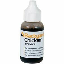 Backyard Chicken Zyfend A Poultry Parasite Remedy 30ml Treats 90 Gallons