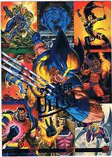 1995 Fleer Ultra X-Men Promo Trading Cards Promo Uncut Sheet