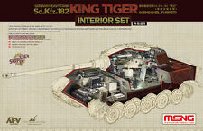 Meng Model 1/35 Sps-037 Sd.Kfz.182 Henschel Turret King Tiger Interior Set