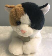 Aurora World Plush Miyoni Calico Cat 11 inch Stuffed Animal Kitty Kitten
