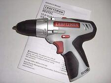 """NEW Craftsman Nextec 12V 3/8"""" 2 Speed Drill 320.10003 *BARE TOOL*"""