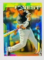 2014 Topps Finest Jose Abreu Refractor RC #22, White Sox Star Rookie!