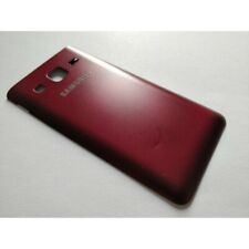 Used Burgundy Battery Back Cover for Samsung Galaxy Folder 2 SM-G1650 / SM-G1600
