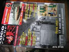 µ? Loco Revue n°641 BB MTE BB 8100 Armoire à train Bourreuse Kibri Halles BB9200