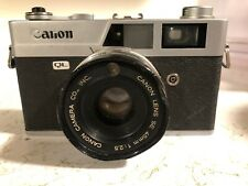 Canon Canonet QL25 35mm Film Camera w/45mm f2.5 Lens from Japan *FAST SHIP*