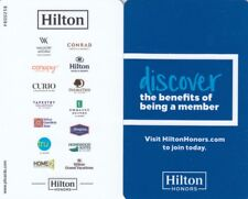 (10088) Hilton Hotel Guest Room Keycard (collectable item only)