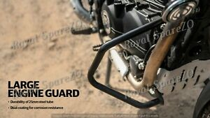 Royal Enfield Large Engine Guard Black For Himalayan 411