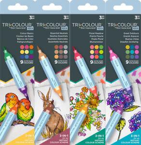 2020 - Spectrum Noir TriColour Aqua Markers by Crafter's Companion