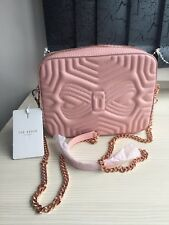 8a0506caccdd59 Bnwt TED BAKER WOMEN SUNSHINE QUILTED CROSSBODY BAG LIGHT PINK Rrp £129  Sold Out