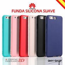 Funda Huawei P8 Lite 2017 P10/P10 Lite Carcasa Silicona Gel Delgada Suave Tpu