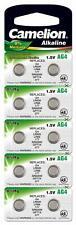 10x Knopfzellen AG4 Uhren-Batterie G4 CAG4 LR626 LR66 177 SR626SW GP7 377 SG4