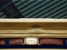 Vintage 1948 Hamilton CLD Brandon 10K Yellow Gold Filled Watch Serviced with box