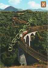 Viaduc de VIA petit Train allant de Villefranche à Latour de Carol LOCOMOTIVE