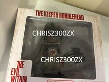 """The Evil Within The Keeper Bobblehead Figure Statue PVC 6"""" Tall Bethesda"""
