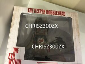 "The Evil Within The Keeper Bobblehead Figure Statue PVC 6"" Tall Bethesda"