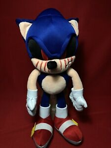 "SONIC The Hedgehog Plush Toy  15"" Custom creppypasta Sonic.exe,jeff the killer"