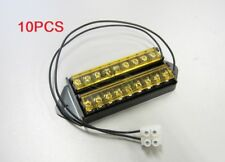 wholesale (10PCS) 8 Way Terminal Block Bus Bar, 18AWG Power Wire with Cover